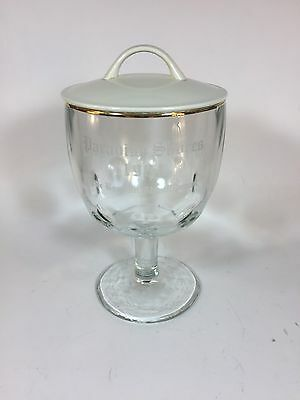 Paradise Shores 1984 Beer Goblet Glass w/ Lid
