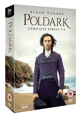 BBC Poldark Series Season 1+2+3+4 Complete DVD 1-4 Boxset Boxed Set New R2+R4