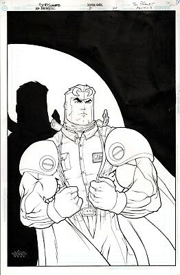 MAJESTIC #2 Cover Ed McGuiness Iconic Cover Original Art
