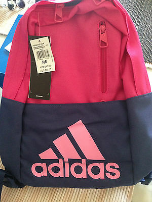 New Adidas Kids Backpack Rrp $35