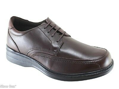Hush Puppies Torpedo Mens Leather Cushion Lace Up Shoe