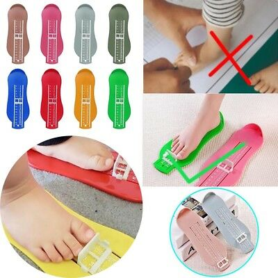 Foot Measure Gauge Tool Measuring Length Shoes Fitting Device For Baby Kids