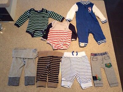 Baby Boys 000 Mixed Bundle Pumpkin Patch And Cotton On Size 000