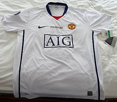 Manchester United 2009 Champions League Final Jersey