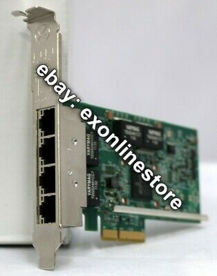 90Y9352 - Broadcom NetXtreme I Quad Port GbE Adapter High Profile 90Y9355 Used