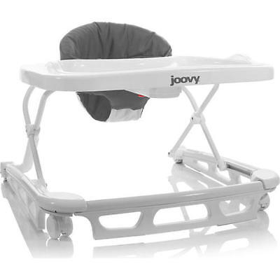 Joovy Spoon Baby Walker - Gray Modern White Toddler Compact Foldable Washable