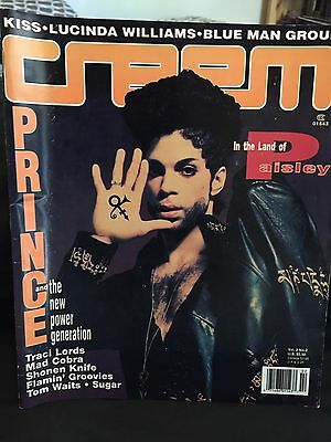 PRINCE / KISS Creem Magazine 1993
