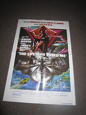 The Spy Who Loved Me/Casino Royale movie poster (MAKE AN OFFER!)