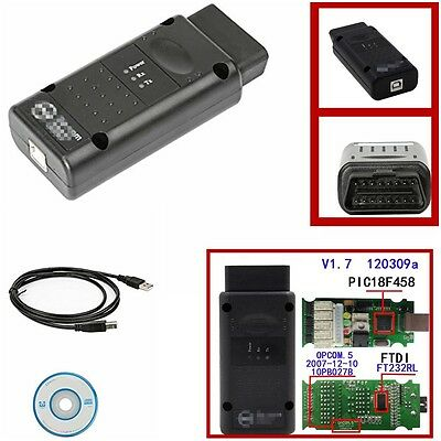 LATEST 120309a + 131223d 2014V opcom Firmware CAN Adapter For OPEL OPCOM