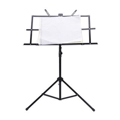 Folding Music Stand Metal Tripod Stand Holder With Soft Case with Carrying Bag