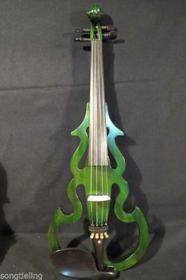 "Beautiful SONG Brand best model 17"" electric viola.ACCAJOU body"