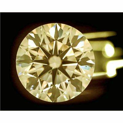 2.00 ct 8.60 mm Intense Brown VVS2 Round Cut Loose Moissanite AUD