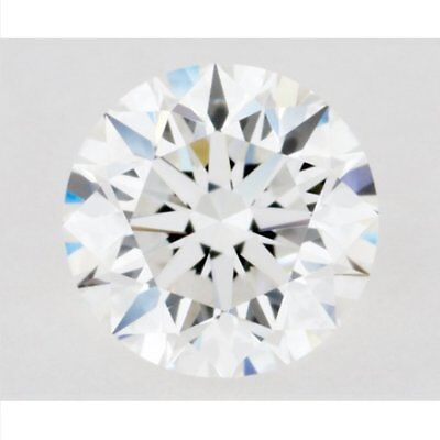 8.00 mm Genuine H-I White 1.70 Carat VVS1 Loose Moissanite Round Cut AUD