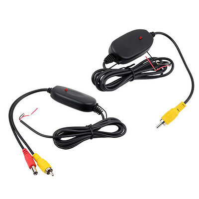 2.4G Wireless Video Transmitter & Receiver for Car Reverse Camera Rear View*UK