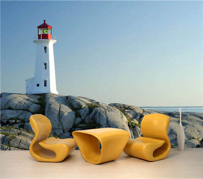 Simple Beacon 3D Full Wall Mural Photo Wallpaper Printing Home Kids Decoration