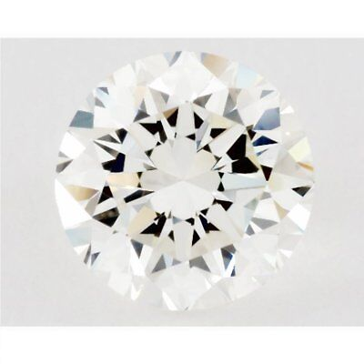 Loose Moissanite 0.50 ct 5.40 mm I-J White Color Round Cut VS1 AUD