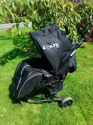 Isafe visual 3 with liner & raincover