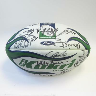 Northern Ford Premiership Autographed Rugby Ball - Approx 20 Signatures