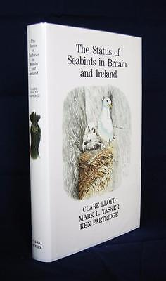 The Status of Seabirds in Britain and Ireland by Clare Lloyd etc (Poyser, 1991)