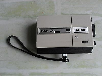 VINTAGE 70's HANIMEX LOADMATIC M100 - SUPER 8 FILM CAMERA - MADE IN JAPAN