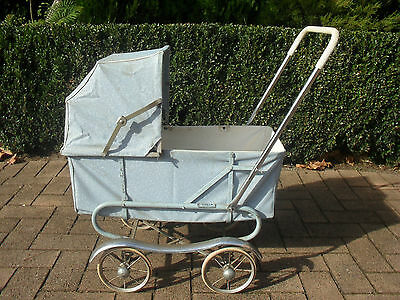 Gorgeous Original Vintage Doll Pram
