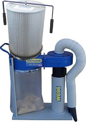 Charnwood W696 Dust Extractor With 1 Micron Cartridge Filter