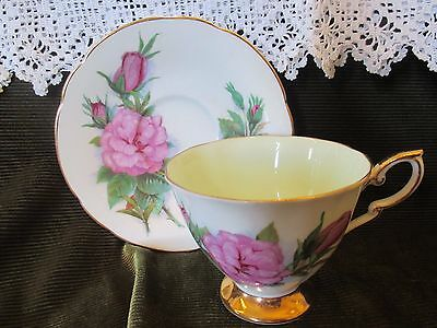 Superb Paragon China  Harry Wheatcroft Roses Cup And Saucer 'prelude'
