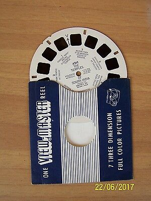 """stereodisco VIEW-MASTER """"THE FAMOUS MOSQUES OF CAIRO EGYPT"""" n. 3302"""