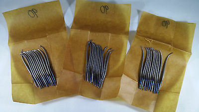 """Rare 1950 3"""" 1/2 90mm English Form 12 awls cobbler french luxurious needles tool"""