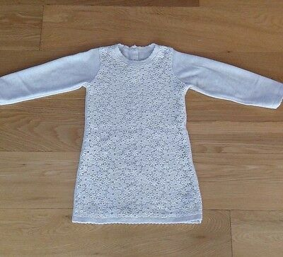 NEW Baby Girls  Knitted Dress tops tunic  12-18Months