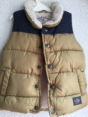 Boys Padded Body Warmer From NEXT. 18-24 Months. Excellent.