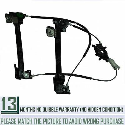 Rear Tailgate Electric Window Regulator (Without Motor) For Landrover Freelander