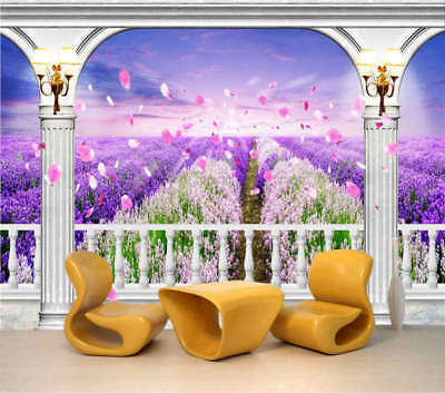 Vast Flower Sea 3D Full Wall Mural Photo Wallpaper Printing Home Kids Decoration