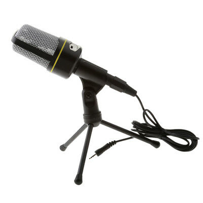 Professional Condenser Sound Podcast Microphone With Mini Tripod Stand
