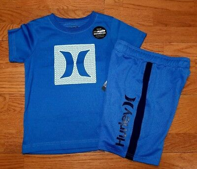 Hurley Boys Size 7 Short Sleeve T Shirt and Shorts NWT