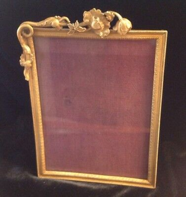 Dore Bronze Antique Art Nouveau Picture Frame