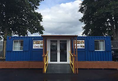 30x16 Joined Shipping Container - Shop - Restaurant - Delicatessen