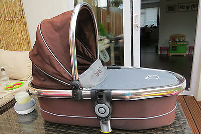 icandy peach 2 lower carrycot in black jack