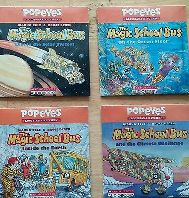 The magic school bus audio book 4 CD's. Only no books
