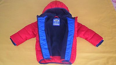Boys Next Red Winter Jacket Size 18-24 Months