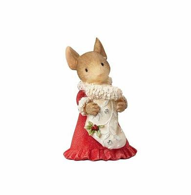 Enesco Heart of Christmas Mouse with Stocking (4057652)