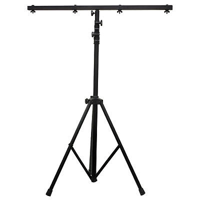 American DJ LTS-6 T-Bar 4 Fixture Ready 9 Foot Lighting Stand Used