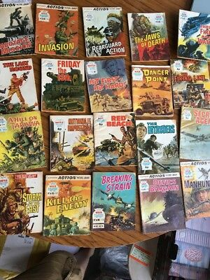 War Picture Library X 20 Issues Used Condition No398 No 614