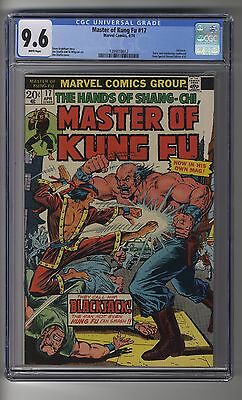 Master of Kung-Fu # 17 - CGC 9.6 White Pages - Third Master of Kung Fu - Starlin