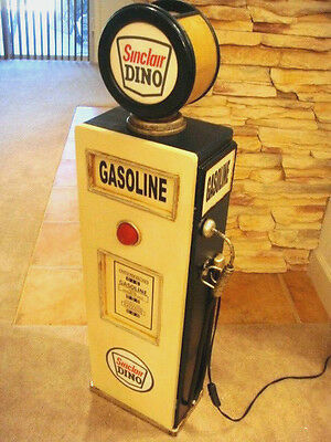 "42"" Sinclair Gas Pump Cabinet with light. Man Cave/Gameroom Decor."