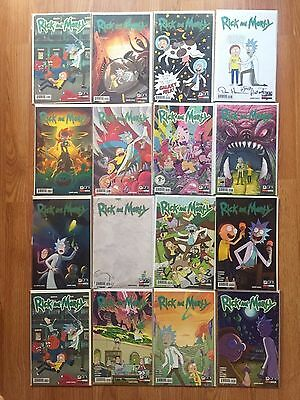 Rick and Morty #1-28 Complete Set Every Issue, Variant, Con Exclusive 100+comics