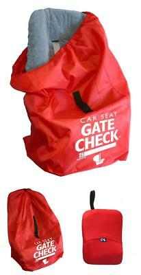 Gate Check Bag For Car Seats Stroller Travel Bags Water Resistant Red NEW