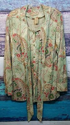 Vintage Lane Bryant Button Up Thin Long Sleeve.           *a39