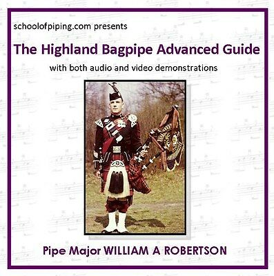 Advanced Highland Bagpipe Guide CD - Rom