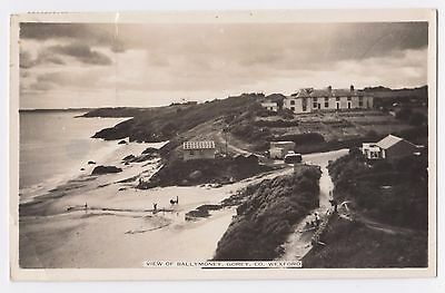 Old Postcard 'View of Ballymoney' Gorey Co Wexford 1959 R/P